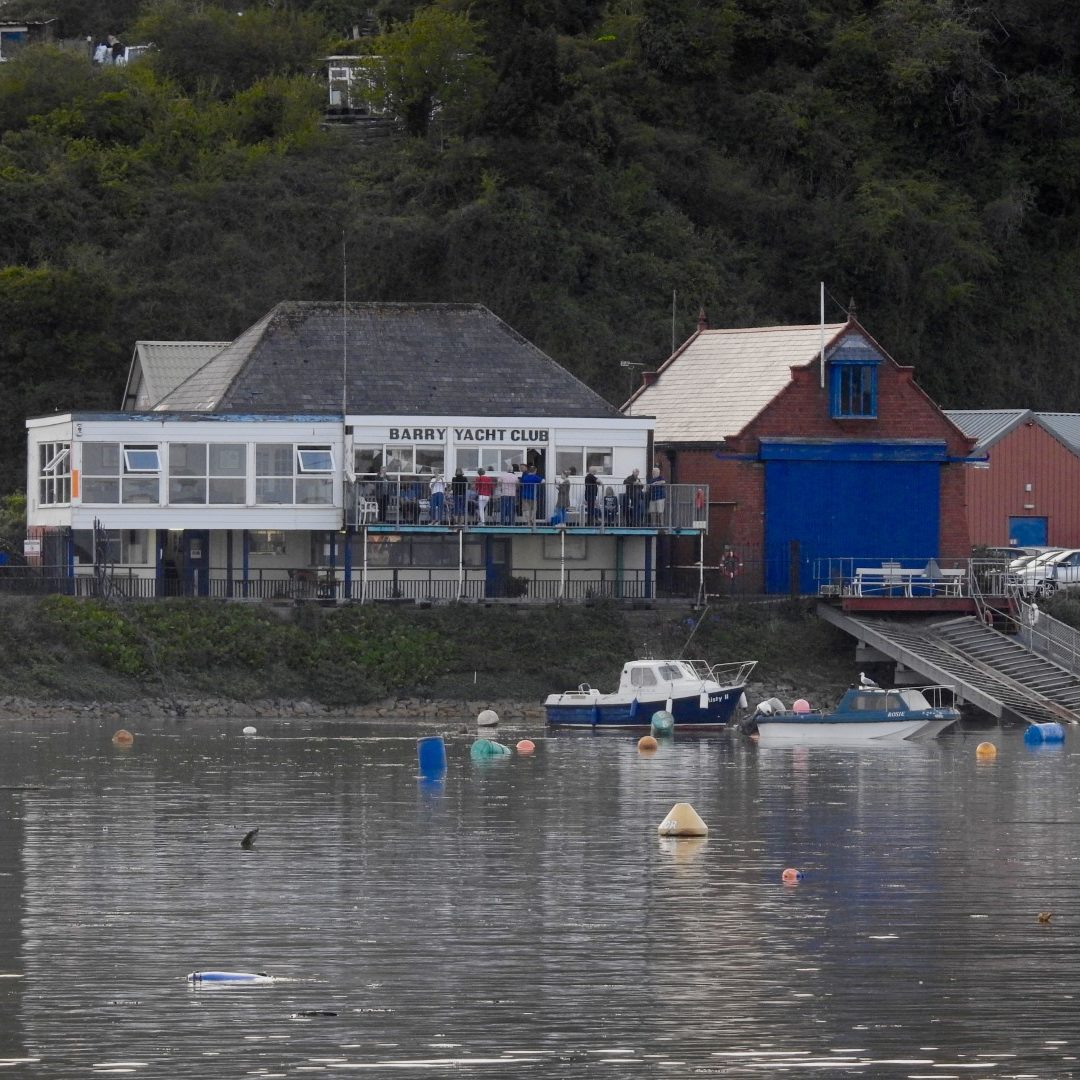 Summer Evening at Barry Yacht Club